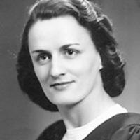 Simonne Voyer, dans les années '50